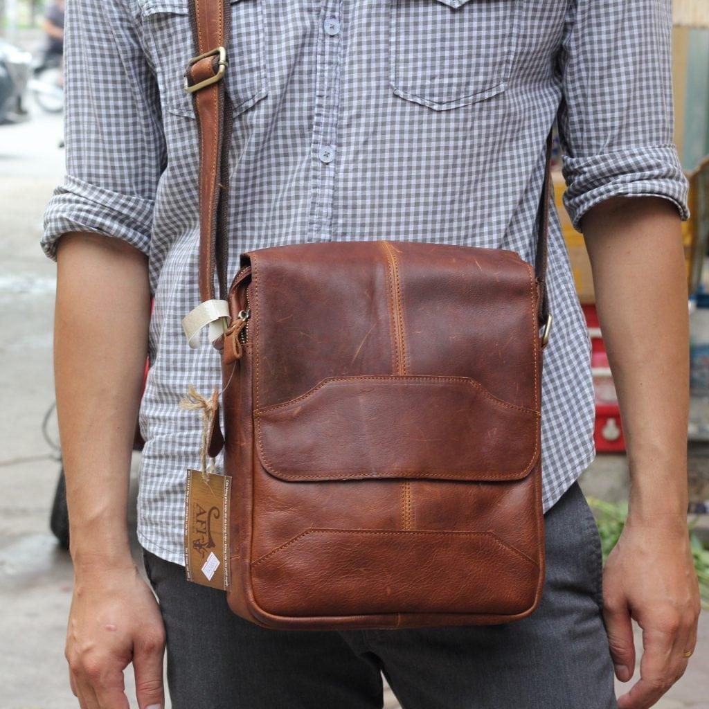 Túi xách nam da thật KT42 thời trang tuyệt đẹp