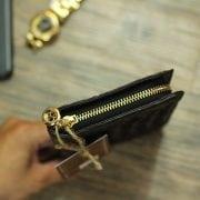 Ví cầm tay nữ da cá sấu thời trang hàng hiệu VCSN03 thân ví