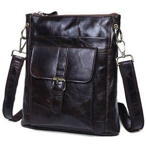 Túi đeo chéo nam da thật siêu mỏng đựng iPad KT42-M