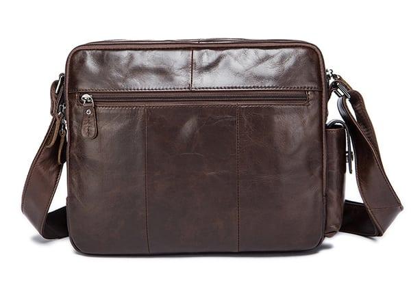 Túi xách nam da bò đựng iPad KT53 mặt sau