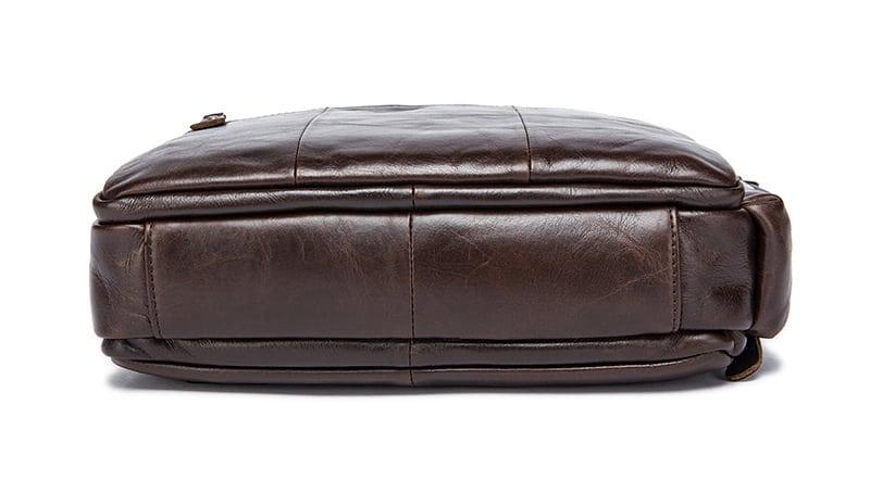 Túi xách nam da bò đựng iPad KT53 đáy túi