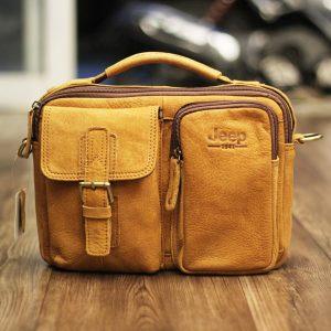 Túi xách nam da thật đựng iPad Jeep J19 mẫu mới 2017