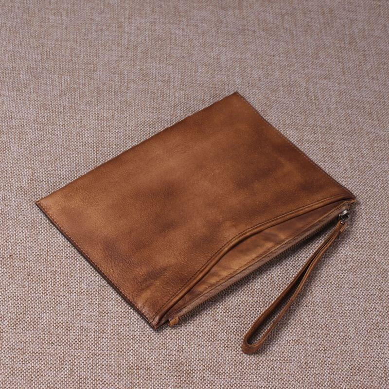 Túi da cầm tay nam thời trang sang trọng CLT001 toàn cảnh