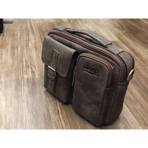 Túi xách nam da thật hàng hiệu đựng iPad J19 mẫu mới 2017