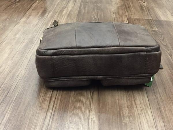 Túi xách nam da thật hàng hiệu đựng iPad J19 đáy túi