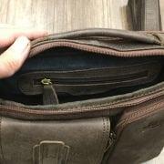 Túi xách nam da thật hàng hiệu đựng iPad J19 mặt trong