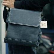 Túi da nam du lịch cao cấp giảm giá KT15 mẫu mới đeo chéo