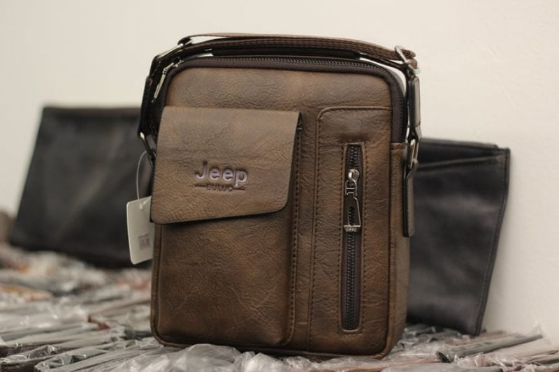 Túi đeo chéo Jeep giá rẻ 04 màu nâu