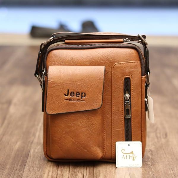 Túi đeo chéo Jeep giá rẻ 04 màu nâu sáng