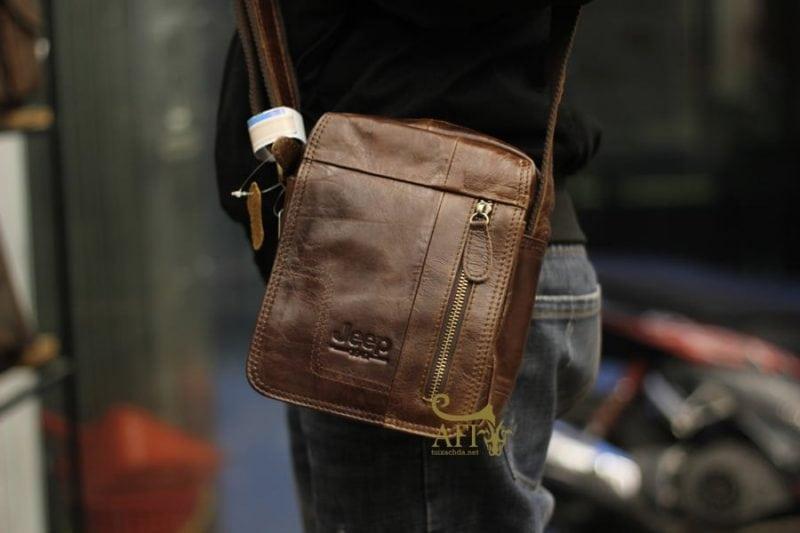 Túi xách nam đeo chéo đựng iPad mini Jeep J30 kiểu dáng