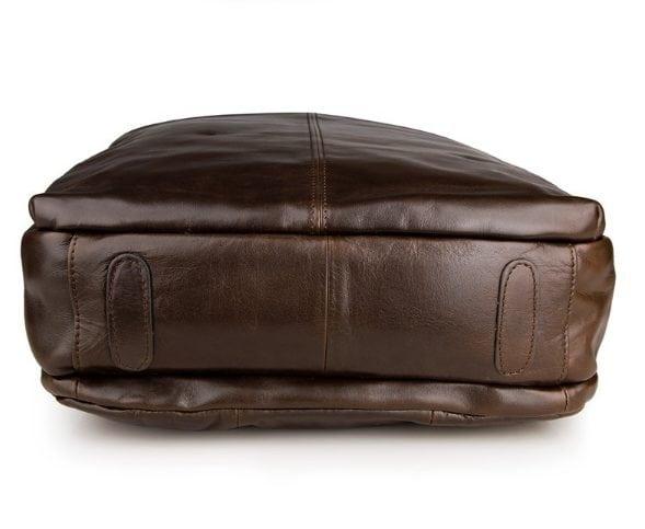 Balo da thật thời trang nam tính đựng Laptop BLN02 mặt đáy