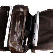 Balo da thật thời trang nam tính đựng Laptop BLN02 rộng rãi, thoải mái