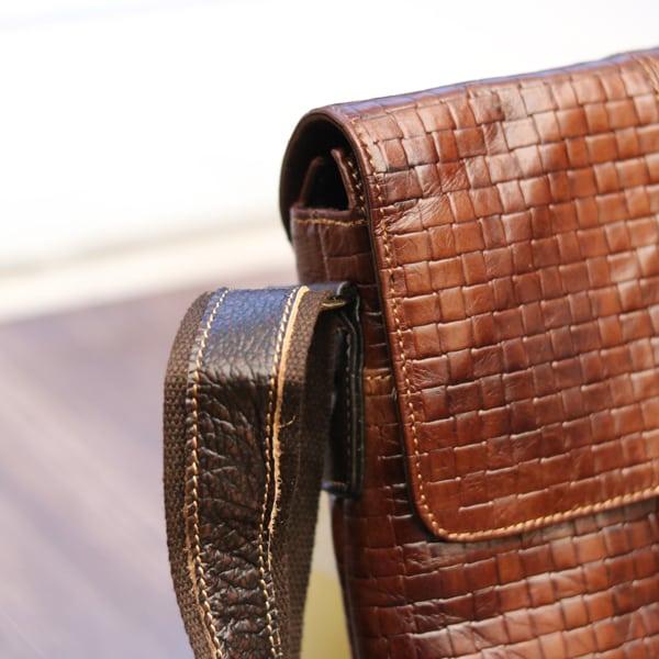Túi đeo chéo nam công sở mẫu mới 2018 KT67 quai đeo chắc chắn