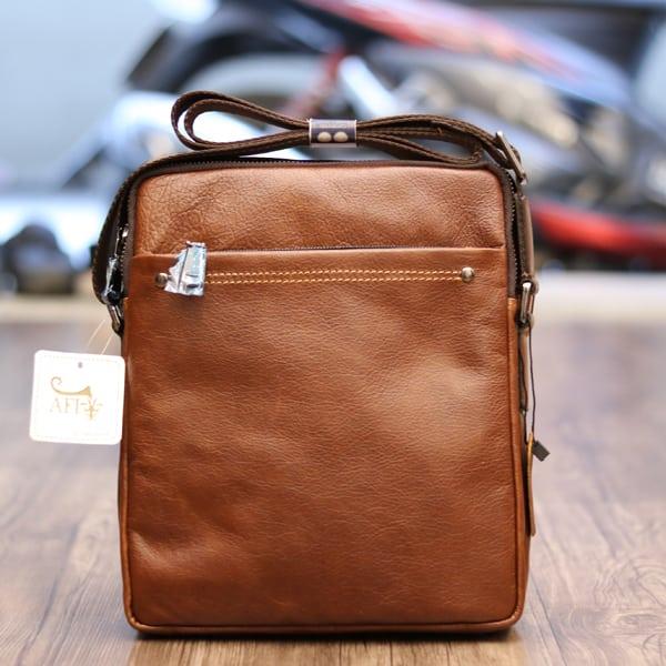 Túi đeo chéo nam da bò thật đựng iPad KT61