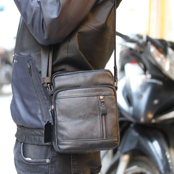 Túi da nam đeo chéo thời trang cao cấp KT71 kiểu dáng