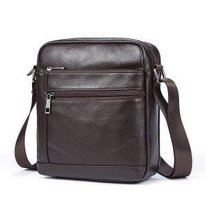 Túi da nam đeo chéo giá rẻ KT69