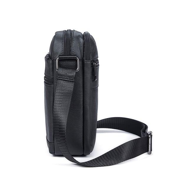 Túi da nam đeo chéo giá rẻ KT69 thân túi
