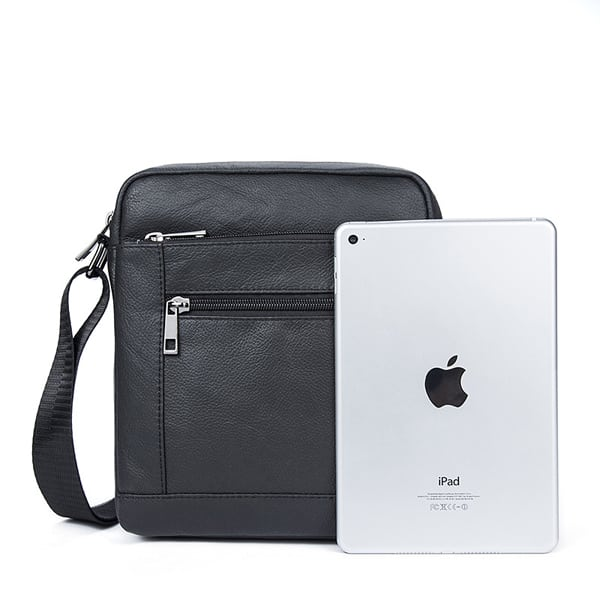 Túi da nam đeo chéo giá rẻ KT69 đựng iPad