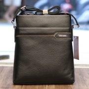 Túi da nam đeo chéo thời trang sang trọng Schwarz Etienne TXSE06 màu đen