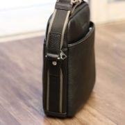 Túi da nam hàng hiệu đẳng cấp cho phái mạnh Schwarz Etienne TXSE04 nhìn nghiêng