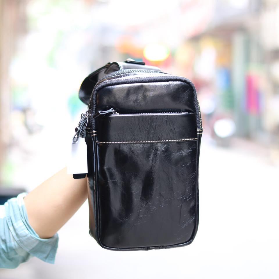 Túi da đeo chéo trước ngực Sling Bag thời trang cao cấp TDL32
