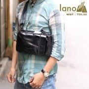 Túi da đeo chéo trước ngực Sling Bag thời trang cao cấp TDL32 đeo trước